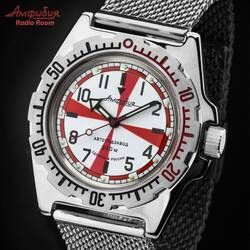 Vostok Radio Room Automatic 2415/110750 Diver Watch from...