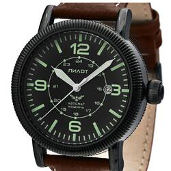 Aviator Watch Automatic B-Watch Pilot Military Analog 1...