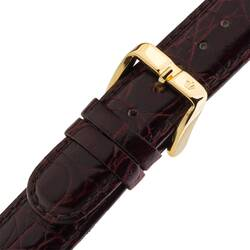 Wrist Watch Band Red Brown Original Poljot 0 25/32in...
