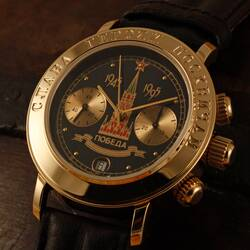 POLJOT Chronograph 3133 Glory to the Muscovite heroes...