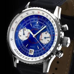 Blue Angels Flieger Chronograph Watch Aviator Watch...