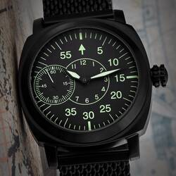 Analog Aviator Watch B-Watch Military Watch Pam Hand...