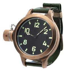 Agat 292 Chb Bronze Kampftaucheruhr Russian Analog Watch...