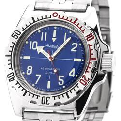 Vostok Automatic 2415.01/110648 Diver Watch from Russia...
