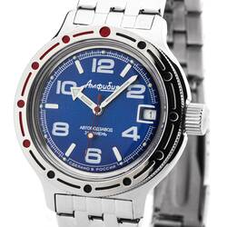 Vostok Diver Watch 656 2/12ft Automatic 22416/420432...