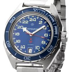 Vostok Komandirskie K65 656 2/12ft Automatic Clock...