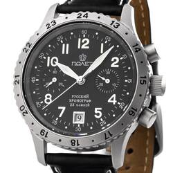 Chronograph Aviator Watch Poljot 3133 Mens Watch Analog...