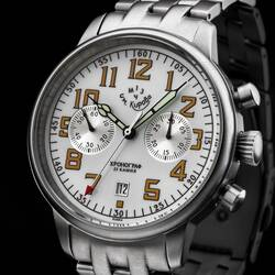 Kirova Watch Chronograph Mechanical Poljot 3133 1MWF...
