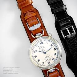 Braun Special Wrist Watch Band B-Watch Luftwaffe Pilots...