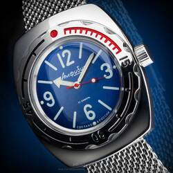 Vostok 1967 Automatic Kal.2415 090914 Diver Watch from...