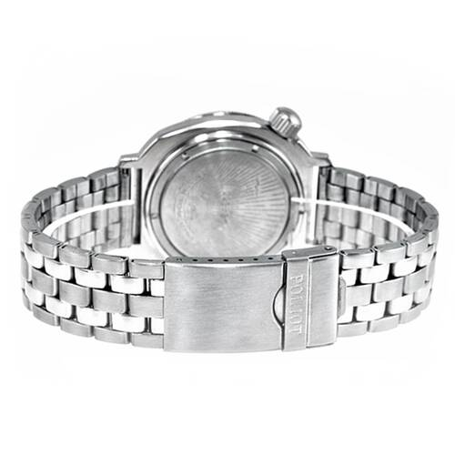 Poljot Montre Bracelet Métal 20mm Poli & Satin Infraction Droit Inox 5K